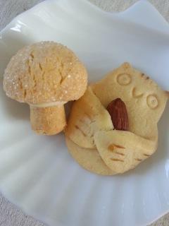 世田谷代田 白髭のシュークリーム工房のトトロのシュークリームとクッキー_f0112873_0238100.jpg