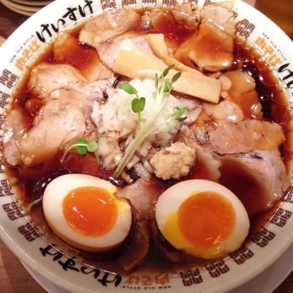 NEW OLD STYLE 肉そばけいすけ@大名古屋ビルヂング_b0065587_20541949.jpg
