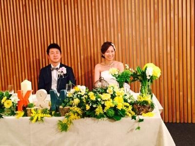Happy Wedding!! K&M~手作りDIYと春の小花_e0120789_21503879.jpg