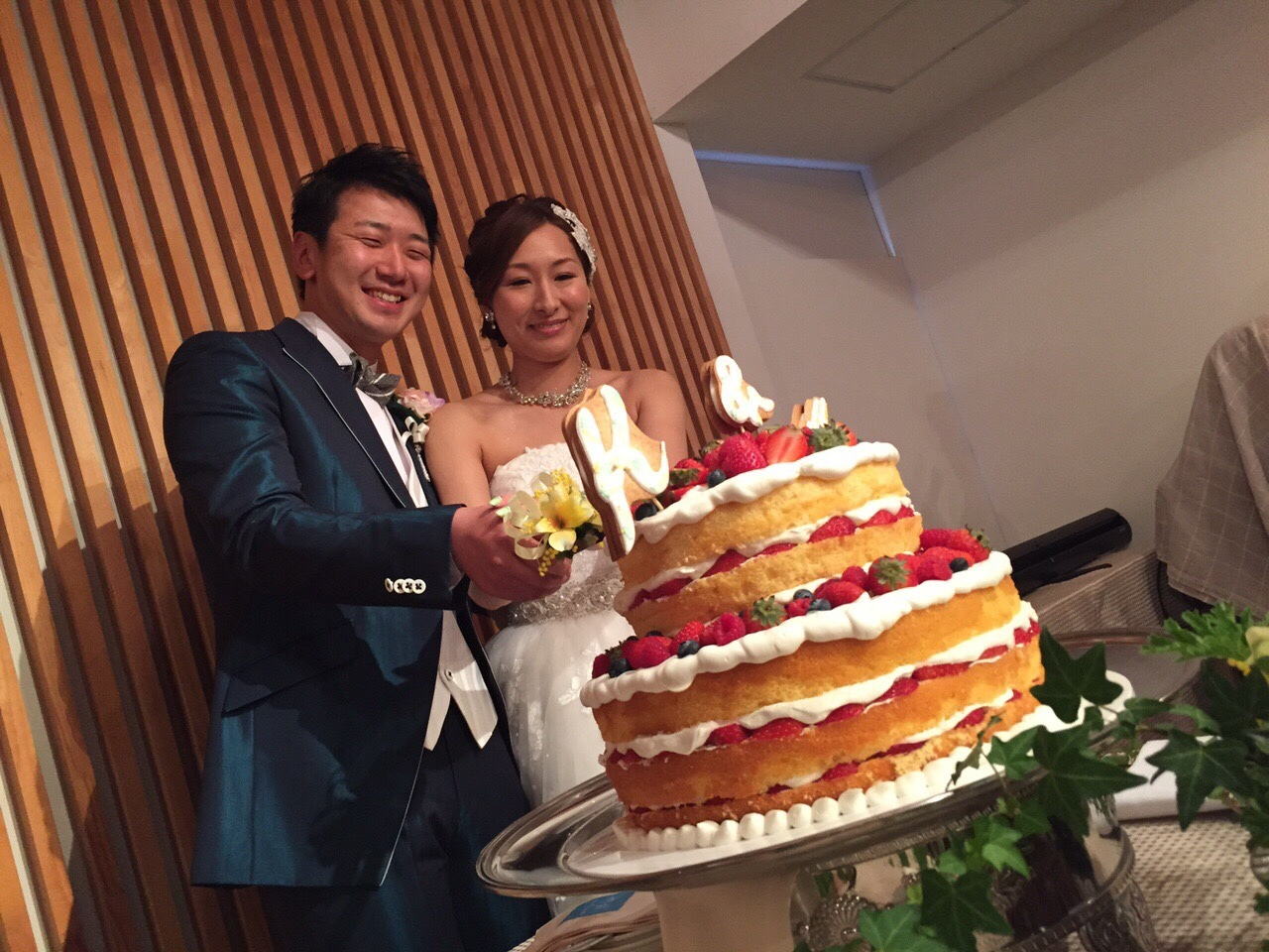 Happy Wedding!! K&M~手作りDIYと春の小花_e0120789_21542861.jpg