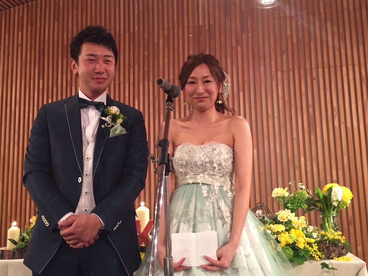 Happy Wedding!! K&M~手作りDIYと春の小花_e0120789_21551173.jpg