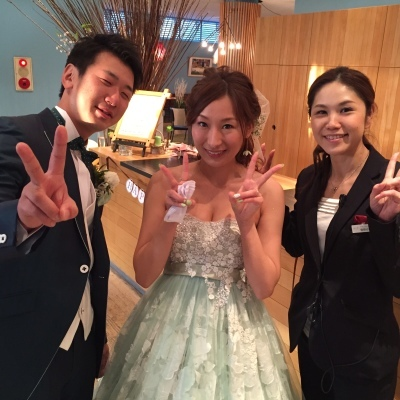 Happy Wedding!! K&M~手作りDIYと春の小花_e0120789_21561078.jpg