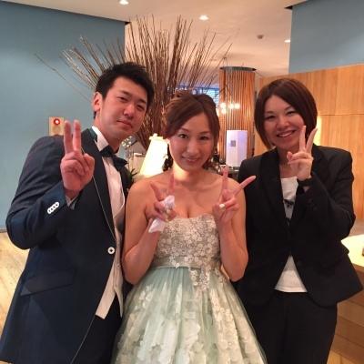 Happy Wedding!! K&M~手作りDIYと春の小花_e0120789_21561522.jpg