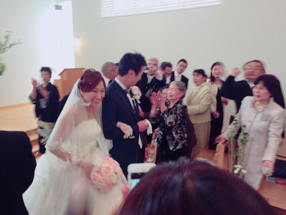 Happy Wedding!! K&M~手作りDIYと春の小花_e0120789_21565374.jpg
