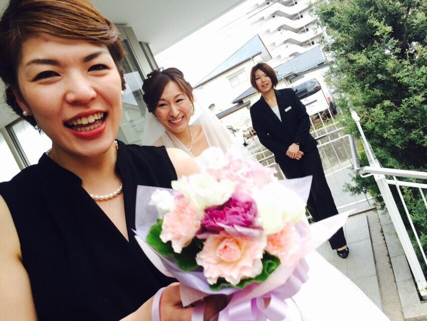 Happy Wedding!! K&M~手作りDIYと春の小花_e0120789_21571784.jpg
