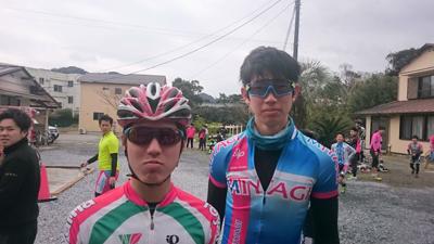 金栄堂サポート:日本大学自転車競技部・大浦尭選手 Fact®インプレッション!_c0003493_10501542.jpg