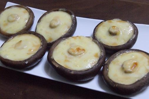 シイタケのチーズのせのせ_a0122205_15484095.jpg