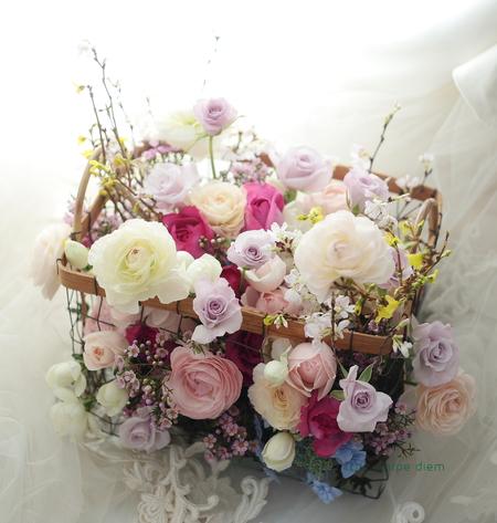 ご入籍記念日に 旦那様から奥様へ 山の上ホテルの花嫁様より_a0042928_1624538.jpg