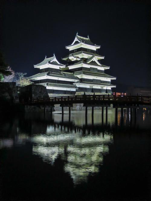 2016.3.21松本城夜景_e0321032_22524215.jpg