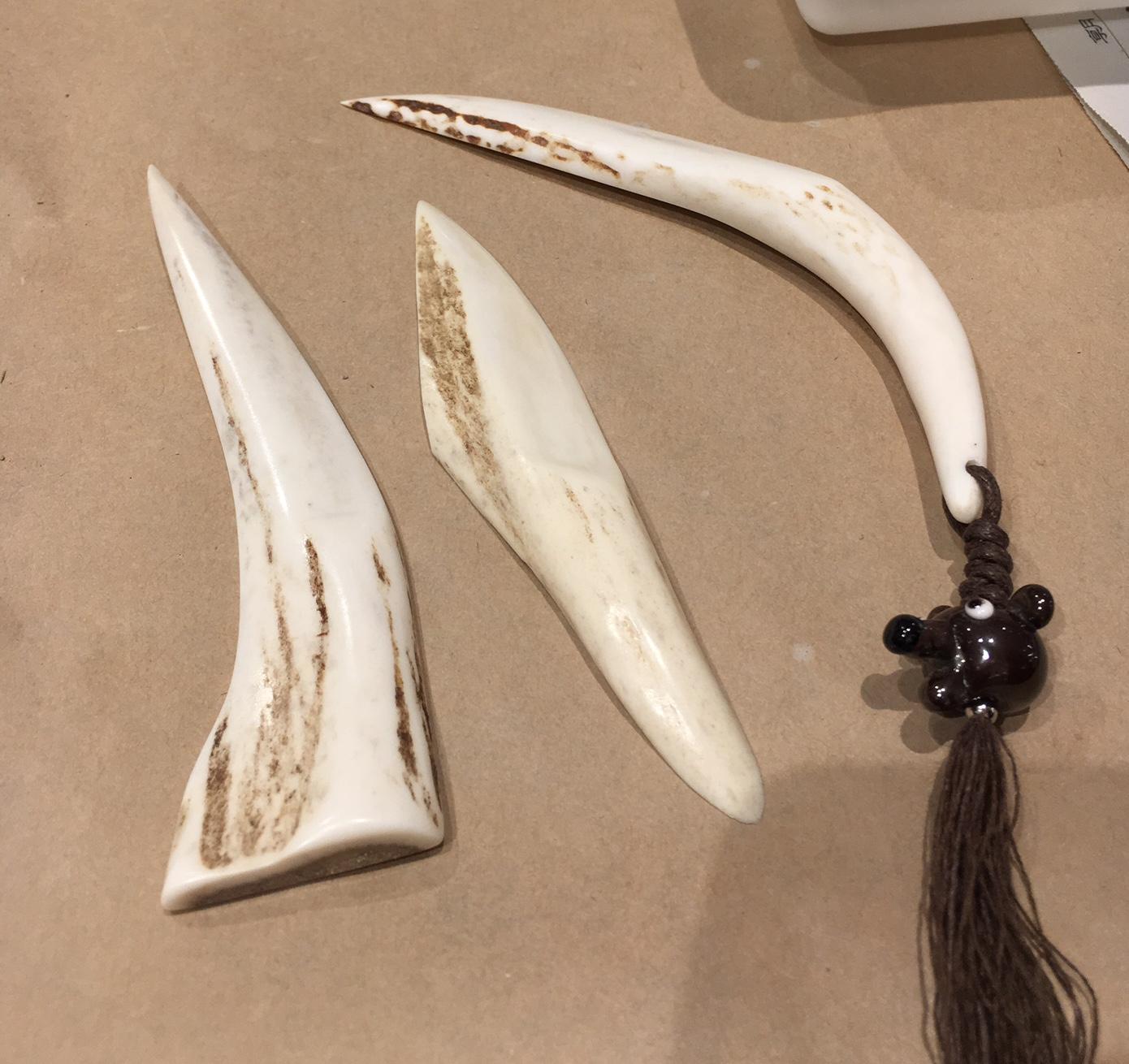 エゾシカの角製ペーパーナイフ!_f0189650_18314267.jpg