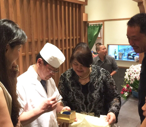 遠藤さんバンコク店オープン!!!バンコクおすすめお寿司 安くて美味しい!ラピスラズリーと像さんに願いを込めて♡_f0355367_02321530.jpg