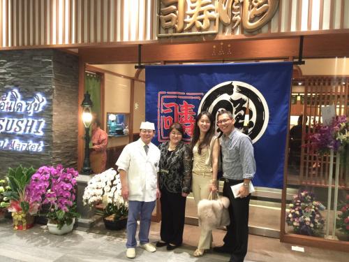 遠藤さんバンコク店オープン!!!バンコクおすすめお寿司 安くて美味しい!ラピスラズリーと像さんに願いを込めて♡_f0355367_02405129.jpg