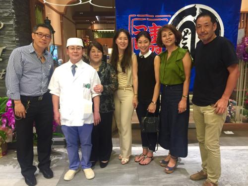 遠藤さんバンコク店オープン!!!バンコクおすすめお寿司 安くて美味しい!ラピスラズリーと像さんに願いを込めて♡_f0355367_02405178.jpg