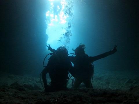 ケラマと青の洞窟!_a0156273_18370834.jpg