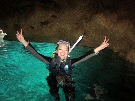 ケラマと青の洞窟!_a0156273_18370840.jpg