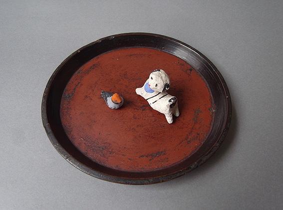 小盆 + 土人形_e0111789_10463721.jpg