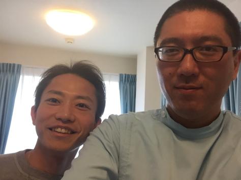 友人のドクター。沖田先生、ご来院。_a0112393_17374280.jpg