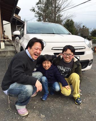 父ちゃん運転しながらニヒニヒしちゃう、の巻!!_c0123295_23202413.jpg