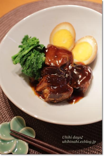 沖縄風な豚の角煮_f0179404_2145474.jpg