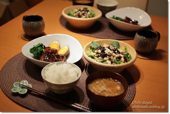 沖縄風な豚の角煮_f0179404_21475285.jpg