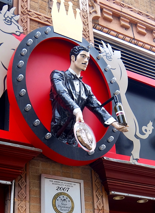 NYのセレブ・シェフのス、ステーキハウスに「寿司バー」?! Uncle Jack\'s Steakhouse_b0007805_7335479.jpg