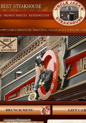 NYのセレブ・シェフのス、ステーキハウスに「寿司バー」?! Uncle Jack\'s Steakhouse_b0007805_7345785.jpg