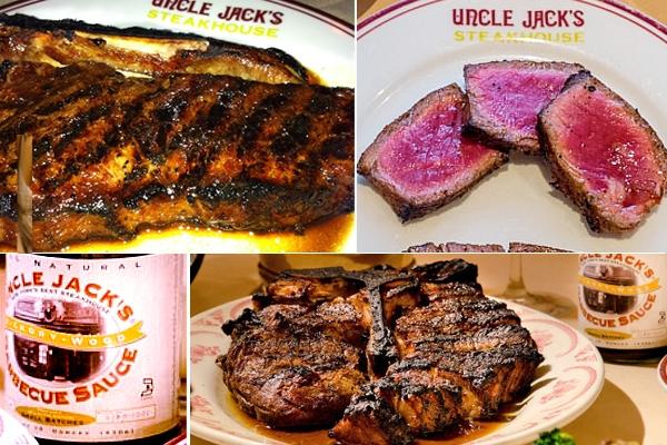 NYのセレブ・シェフのス、ステーキハウスに「寿司バー」?! Uncle Jack\'s Steakhouse_b0007805_7363756.jpg