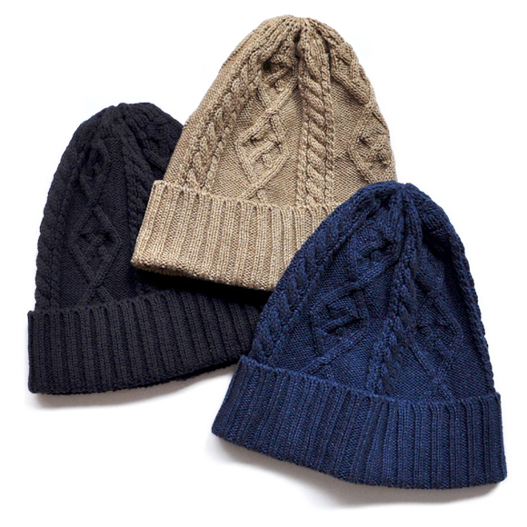 Cotton Fisherman Knit Cap_d0193211_17171244.jpg