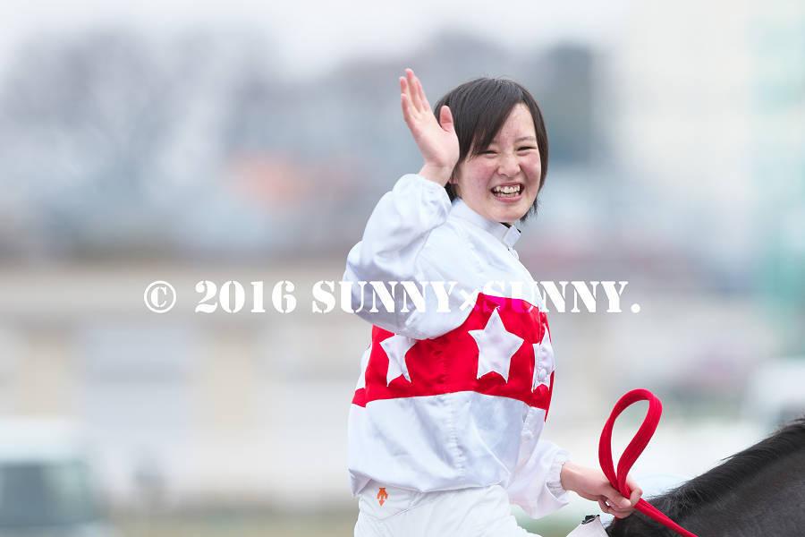 Congratulations!  藤田菜七子騎手初V_a0204724_20523245.jpg