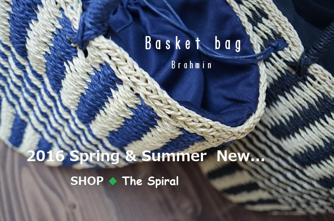 """2016 Spring &Summer  New...~BrahminのBasket bag 3/24thu\""_d0153941_1915136.jpg"
