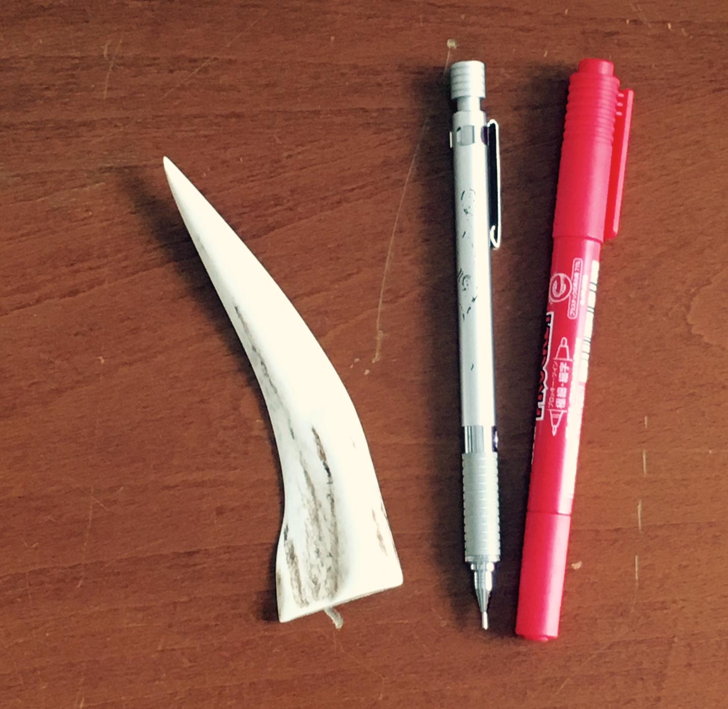 エゾシカの角製ペーパーナイフ!_f0189650_10291112.jpg