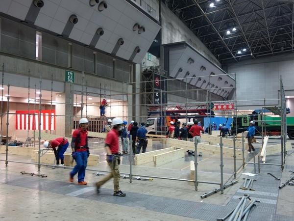 ジャパン建材フェア_c0019551_21485997.jpg