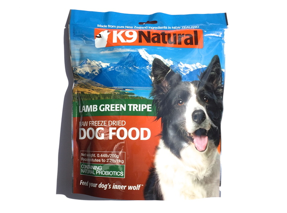 K9 Natural FREEZE DRIED LAMB GREEN TRIPE  フリーズドライ グリーン  トライプ_d0217958_1121820.jpg