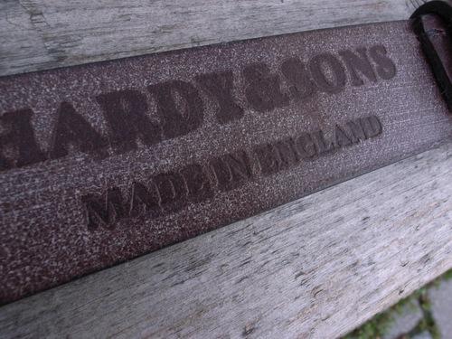 HARDY & SONS ブライドル レザー ベルト_d0334060_1436473.jpg