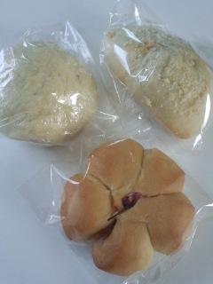 幡ヶ谷 ジャムハウスのソーセージピザ+カフェオレセット、肉まん、桜あんぱん、カレーパン_f0112873_23524571.jpg