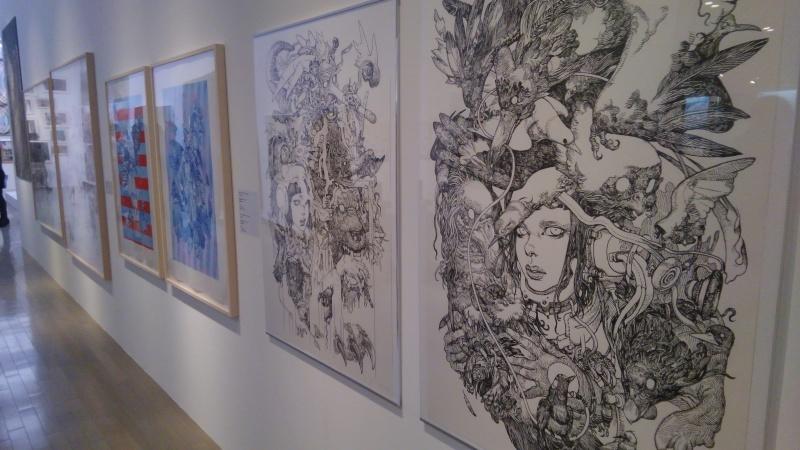 村上隆コレクションの展示1_f0351305_23585597.jpg