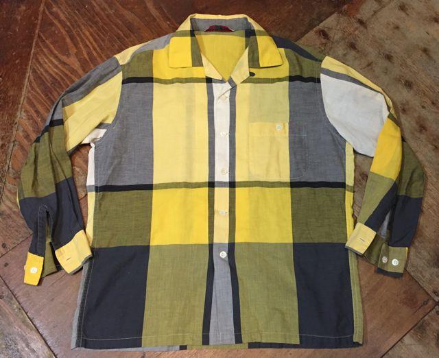 3月26日(土)入荷商品!50s マクレガー オープンカラーボックスシャツ!_c0144020_1665444.jpg