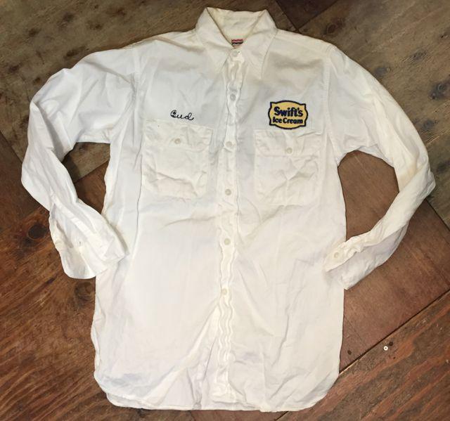 3月26日(土)入荷商品!  50s チェーンステッチ入り all cotton twill work shirts マチ付!!_c0144020_16825100.jpg