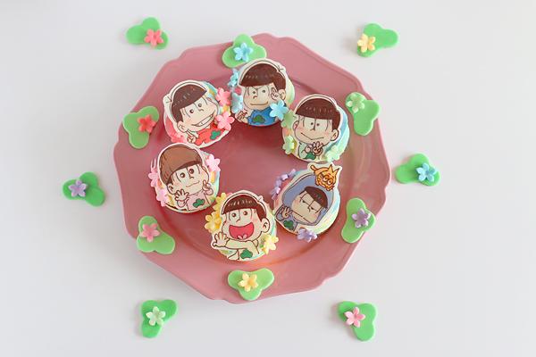 おそ松さんカップケーキ_f0149855_15573031.jpg