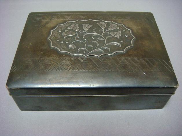 アンティーク 銀製のシガレットケース_a0167071_22325923.jpg
