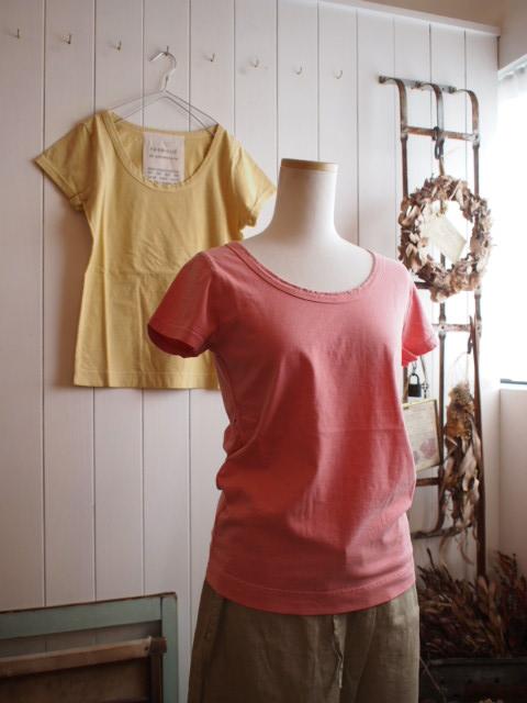 真鍮のセーフピンと・・・半袖Tいろいろ。_a0164280_12481638.jpg
