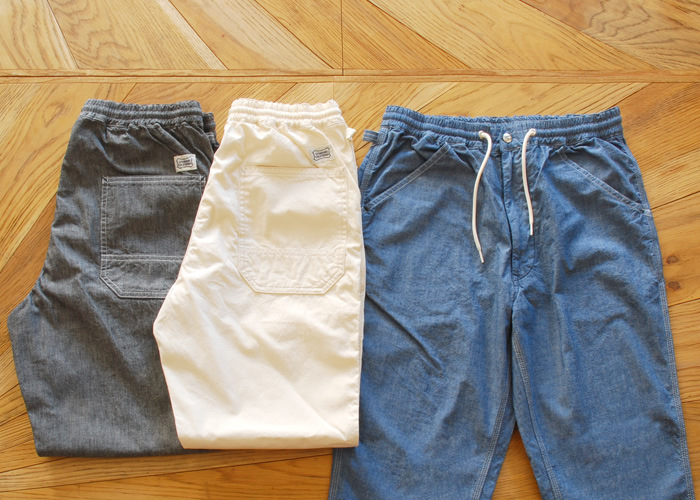 【DELIVERY】 STANDARD CALIFORNIA - Chambray Easy Pants!_a0076701_15485660.jpg