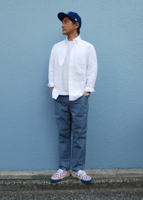 【DELIVERY】 STANDARD CALIFORNIA - Chambray Easy Pants!_a0076701_1549213.jpg