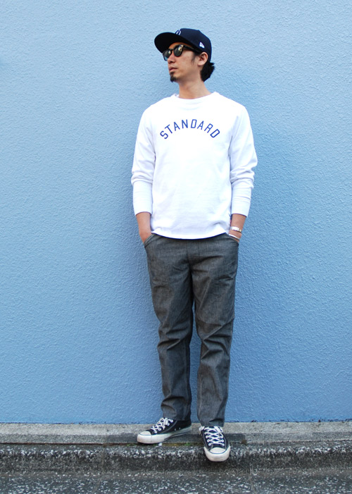 【DELIVERY】 STANDARD CALIFORNIA - Chambray Easy Pants!_a0076701_1549388.jpg