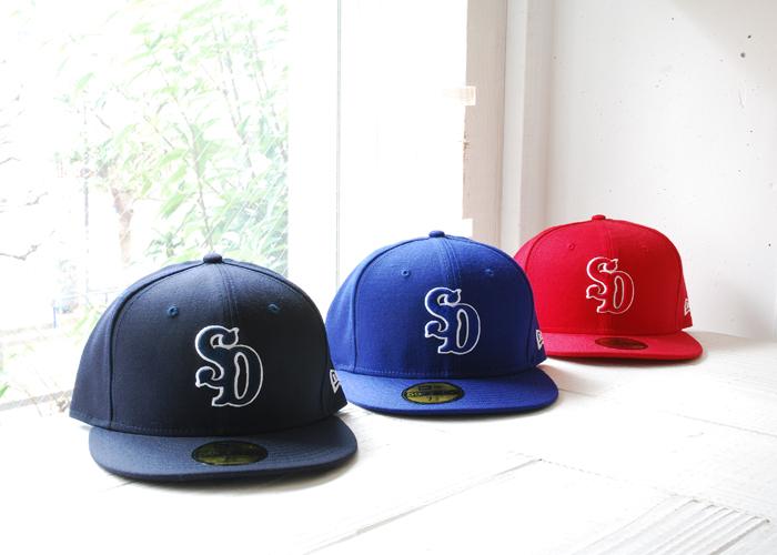 【DELIVERY】 STANDARD CALIFORNIA - NEW ERA × SD 59FIFTY Logo Cap Type 5!_a0076701_1644874.jpg