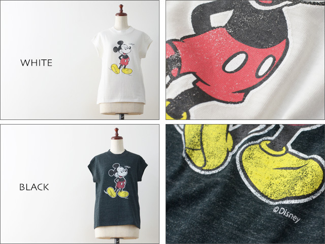 RITA JEANS TOKYO [リタ ジーンズ トーキョー] MICKEY MOUSE VITAGE T [RT.16SS DF-01 /FCT125R ] LADY\'S_f0051306_17571749.jpg
