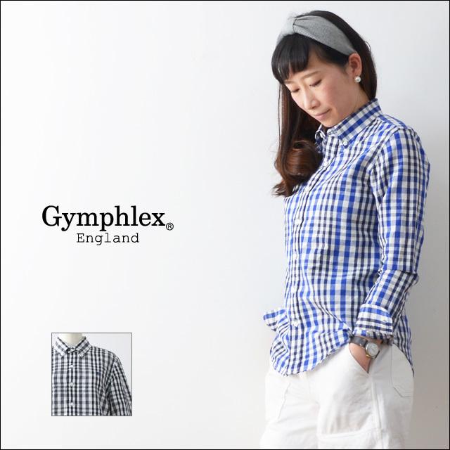 Gymphlex [ジムフレックス] LINEN CLOTH SS SHIRTS [J-0872LLC] LADY\'S_f0051306_18083775.jpg