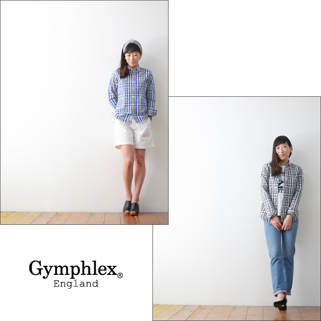 Gymphlex [ジムフレックス] LINEN CLOTH SS SHIRTS [J-0872LLC] LADY\'S_f0051306_18084915.jpg