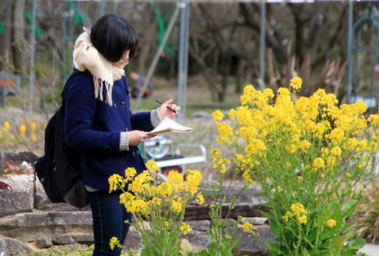 植物園で春の花1_e0048413_19585379.jpg
