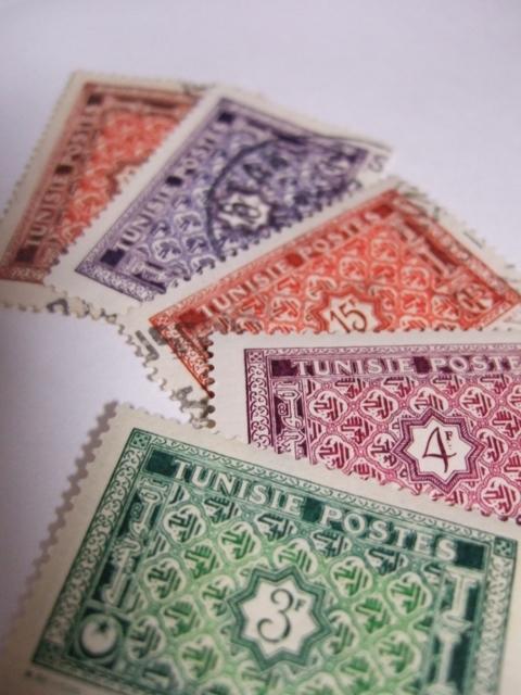 チュニジアの切手_a0306166_20111514.jpg